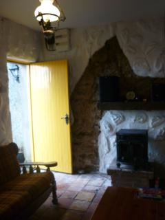 The Garden Cottage sitting area