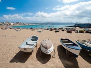 Estudio en la Playa de Las ..., Barranco del Pinar