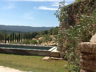The panoramic view on Luberon