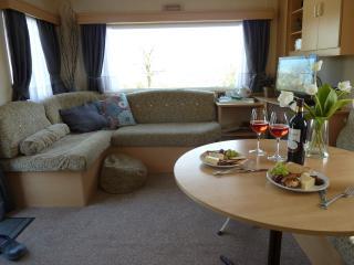 Arfryn's dining living area