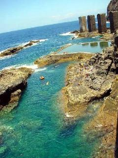 Piscina natural del antiguo Pescante de Hermigua a escasos kilometros
