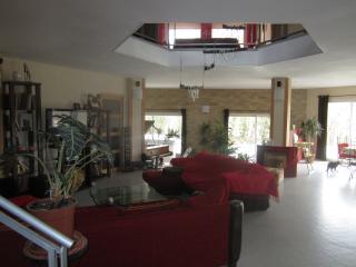 salon, espace horizontal et verticale