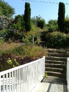 Walk up the garden path