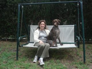 gran Jardín privado saliendo  del salon, admitidas mascotas
