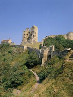 Scarborough Castle only 40 mins drive from cottages
