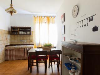 Beige apartment kitchen