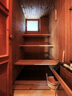 Sauna-relax your body and mind.