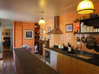 The Kitchen Downstairs Opening onto the Garden