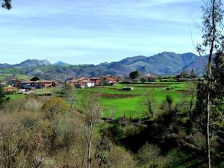 La casa rural se encuentra ubicada en el pueblo de Valles, concejo de Piloña.