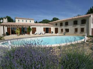 Luxury South of France villa rental with pool and tennis court sleeps 12, Montouliers