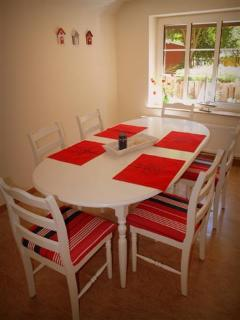 Dining room for 6 persons