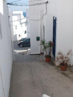 Fachada entrada apartamentos