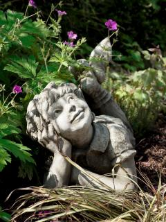 Fairies in the garden x.