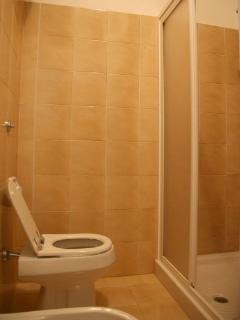 the bathroom on the ground floor