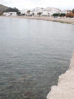 el pueblo desde el mar