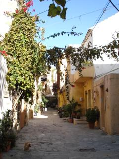 Charming side streets in Chania
