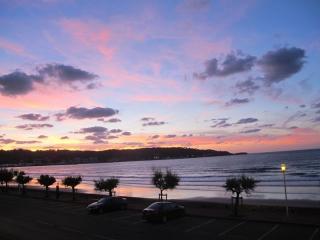 alquiler primera linea playa Hendaya