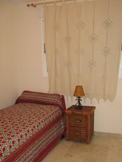 Dormitorio capacidad dos camas