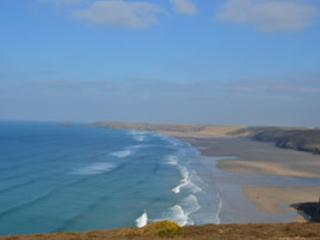 Perranporth beach - 3 miles of golden sands and world famous surf!