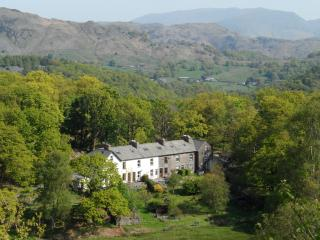 Acorn Cottage between Coniston and Little Langdale. Walking/biking from the door