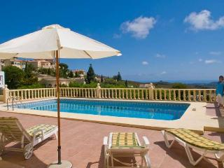 Near Javea, Villa Altavista, great view, big pool, Alicante