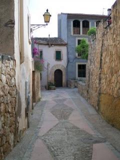 Entorno/Localidad calle del pueblo de Altafulla
