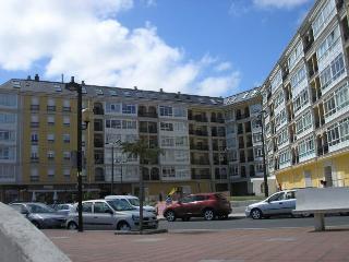 Apartamento 1ª linea de playa Rapadoira con piscin, Foz