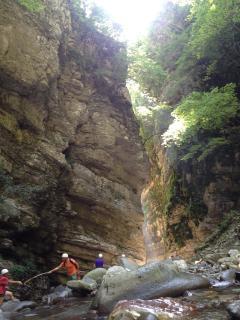 Local Orrido di Botri Gorge