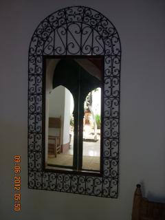 Reflet dans un mirroir