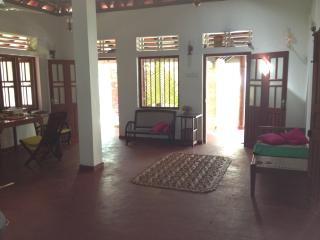 Inside main house