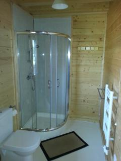 Enjoy a shower in any one of the 4 en-suites