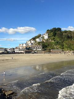 Looe Town Beach from Banjo Pier