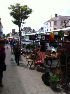 Market day, South Street, Bridport