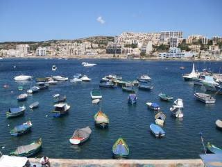 Seafront Holiday  Apt. Malta, Xemxija