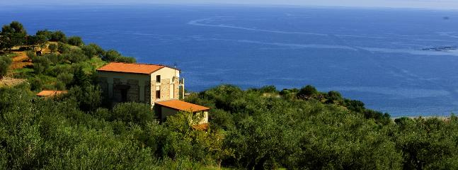 Casa Torretta has an amazing view on the Gulf of Patti