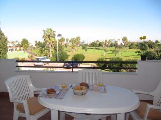 TERRACE EQUIPPED WITH GOLF VIEW