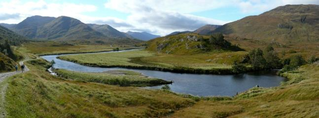 Hire a bike and explore the remote ancient landscape of the Highland Glens of Affric & Cannich