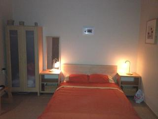 1st studio with double bed