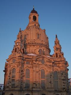 Frauenkirche Dresden - Church of our Lady in Dresden - rebuild 50 years after it had been destroyed