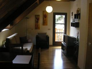 Apartamento abuhardillado, Parzán