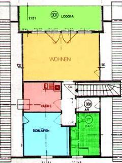 Wohnungsplan Boevergeest