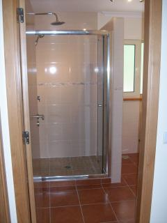 Family Shower Room ~ with large walk in shower.
