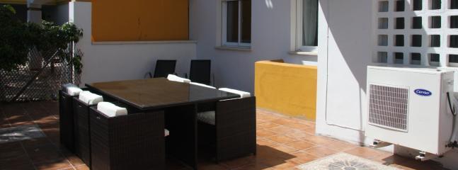 Enjoy Al Fresco Dining on the Large Garden Terrace
