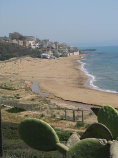 spiaggia del Parco Archeologico