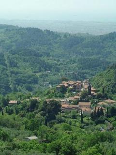 Panorama di Carignano e Vallata del Magra