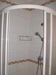 Seperate shower cubicle