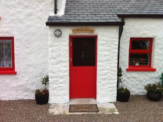 Traditional half door