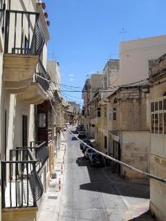 Triq Sant Elena, showing apartment and balconies