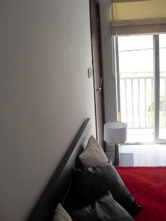 Balcony to master bedroom