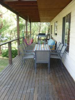 Enjoy al fresco living on the front deck with the new BBQ